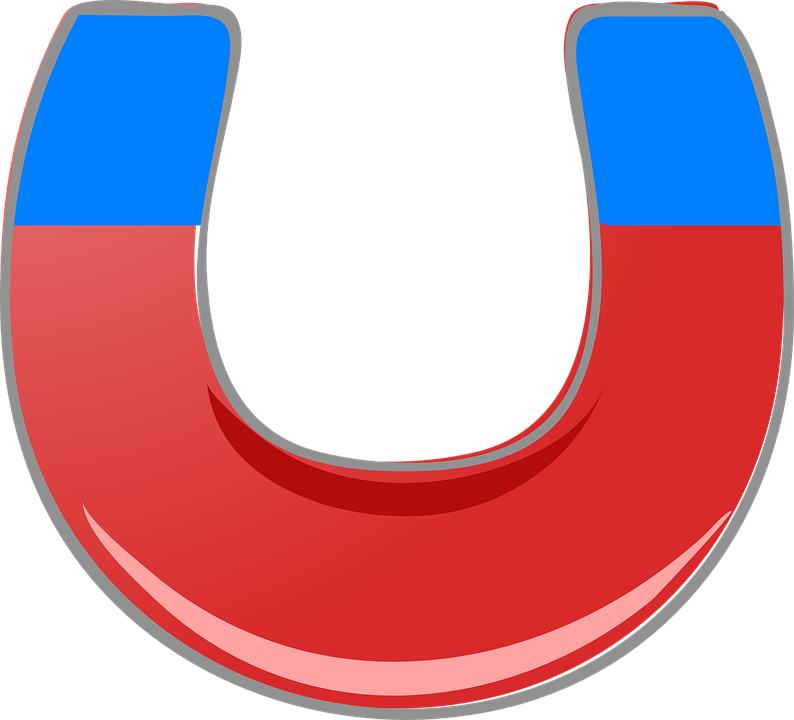Magnet, Red, Blue, Magnetic, Polarity, Magnetize - Magnet HD PNG