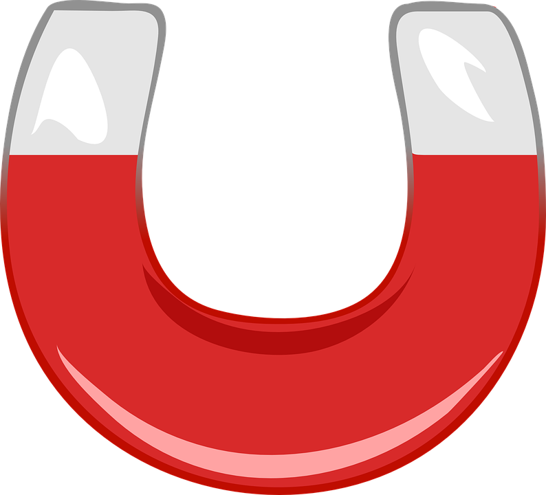 Magnet, Horseshoe, Red, Magnetic, Tool, Attract, Metal - Magnet HD - Magnet PNG HD
