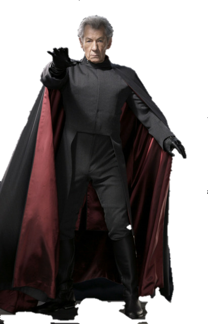 Magneto PNG Render by MrVideo-VidMan PlusPng.com  - Magneto HD PNG