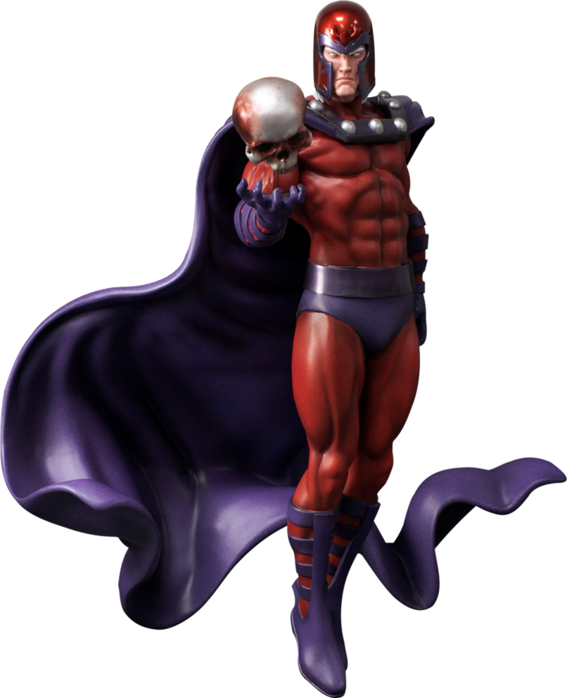 Magneto statue Render by bobhertley PlusPng.com  - Magneto HD PNG