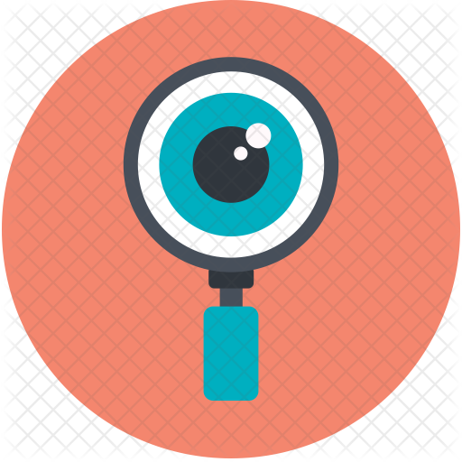 Magnifier Icon - Magnifying Glass And Eye PNG