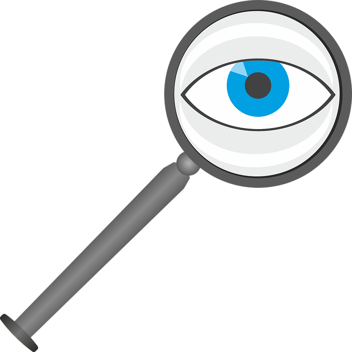 magnifying glass eye lens see larger view optics - Magnifying Glass And Eye PNG