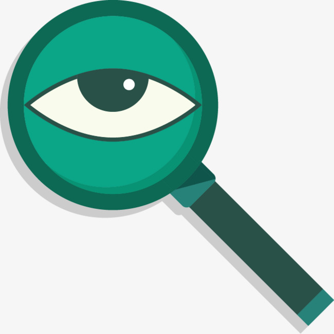 vector magnifying glass and eye, Eye, Magnifier, Eye PNG and Vector - Magnifying Glass And Eye PNG