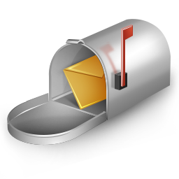 128x128 Px, Mailbox Icon 256x256 Png - Mailbox PNG