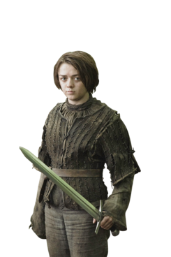 Photo: Helen Sloan/HBO - Maisie Williams PNG