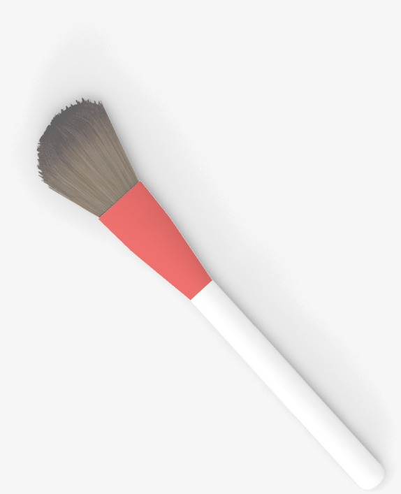 Pink blush brush, Hd, Make Up, Brush Free PNG and PSD - Makeup Brush PNG HD