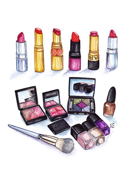Sketch Makeup Png - Pesquisa Google - Makeup PNG