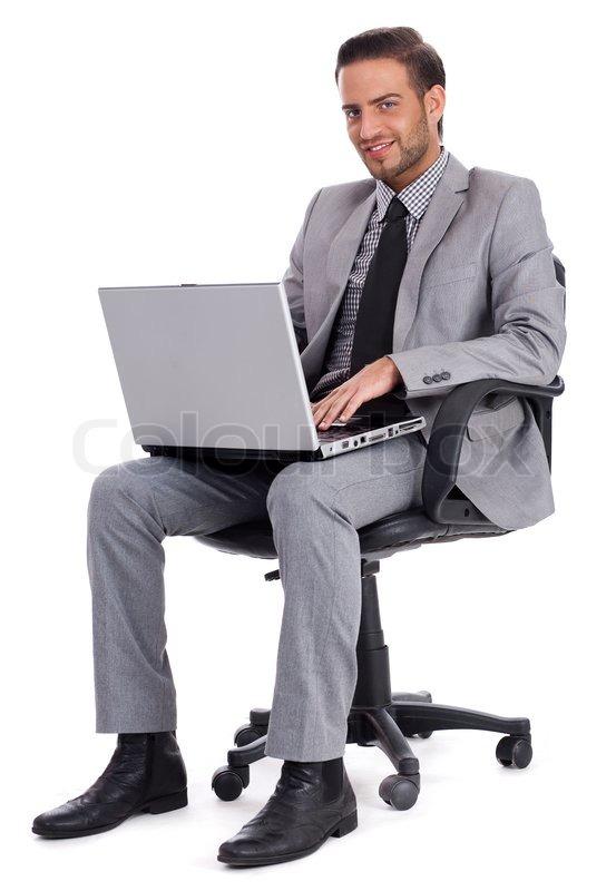 Man At Desk PNG - 167308