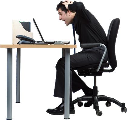 Man At Desk PNG - 167291