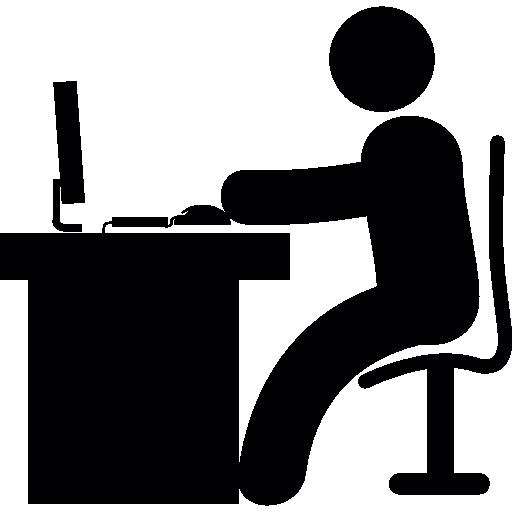 Man At Desk PNG - 167293