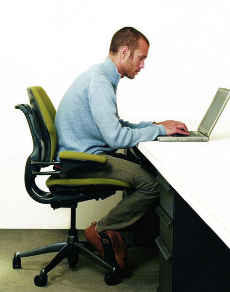 Man At Desk PNG - 167294