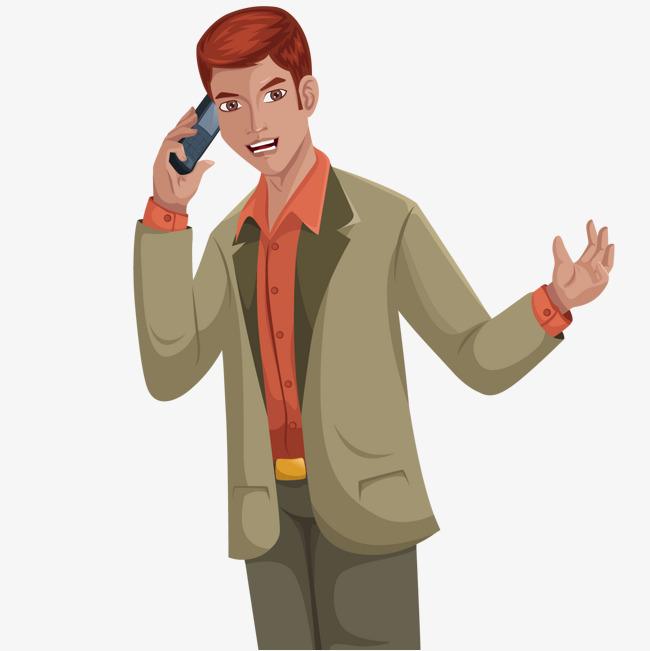 Man Calling PNG