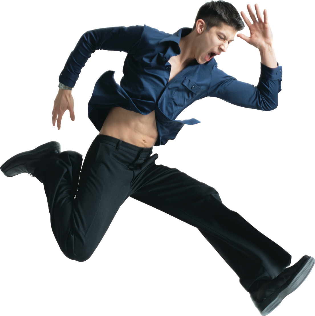 Youu0027re now just a few simple clicks away from A PREMIER EVENT. - Man Jumping For Joy PNG