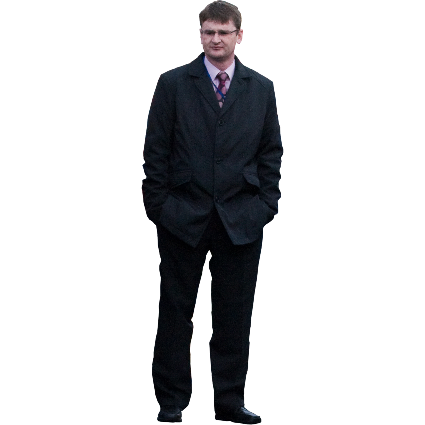 Man In Suit PNG image #9461