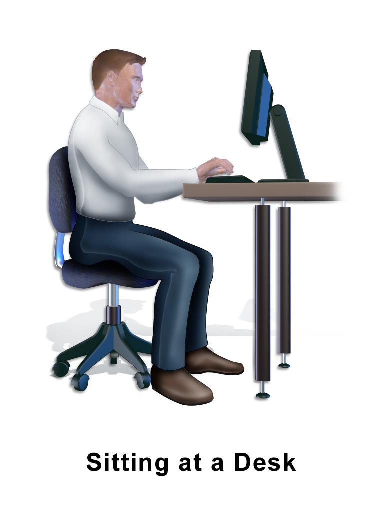 Man Sitting At Desk PNG Transparent Man Sitting At Desk ...