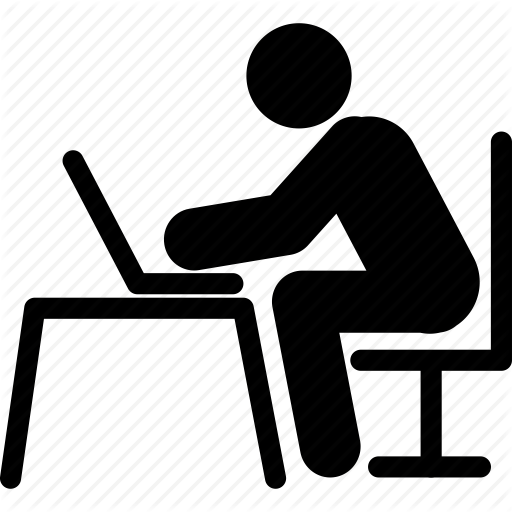 laptop, laptop operating, laptop using, man using laptop, notebook, pc, - Man Using Computer PNG