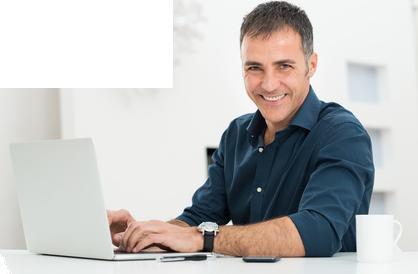 Man Using Computer PNG - 80185