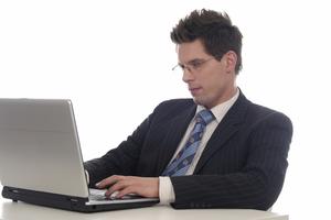 Man Using Computer PNG - 80188