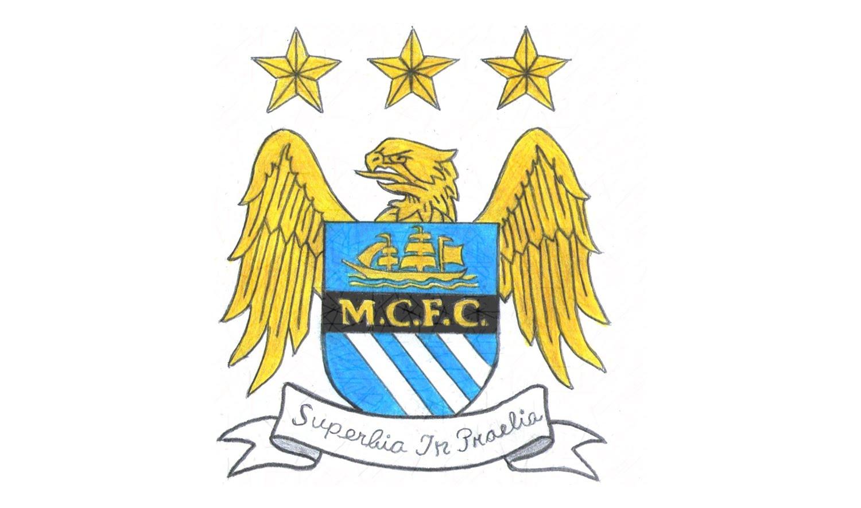 Wie zeichnet man logo von Manchester City FC (Englisch Fußball) Tutorial -  YouTube - Manchester City Fc PNG