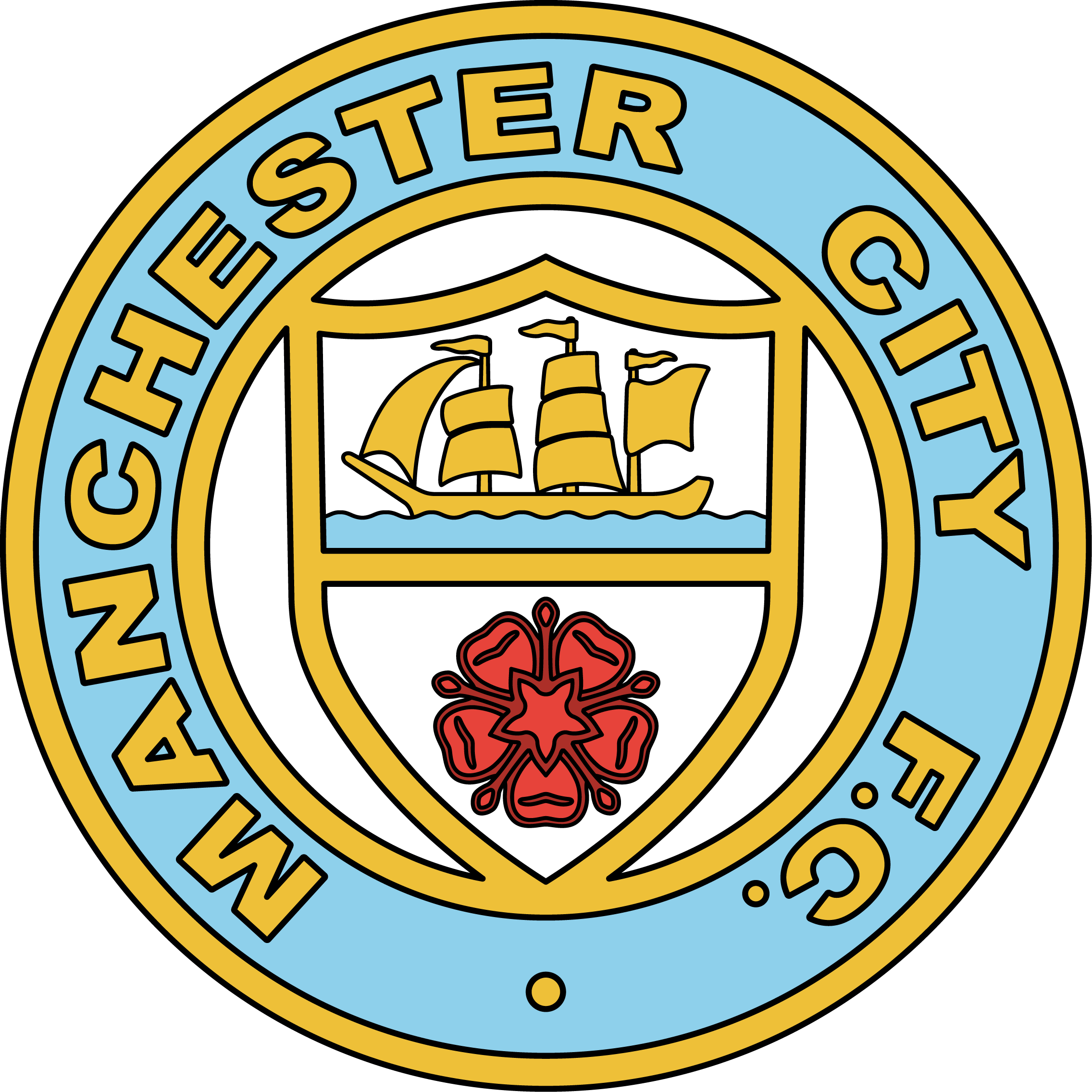Manchester City Logo PNG - 32563