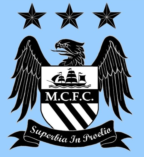 Manchester City FC logo (2012-13, home).png - Manchester City PNG