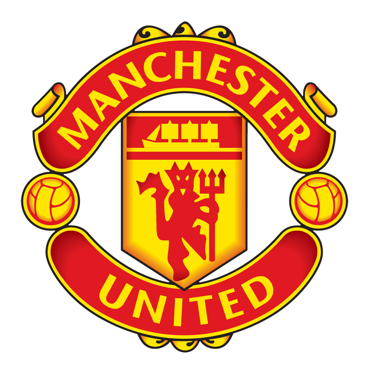 Manchester United Logo PNG - 17227
