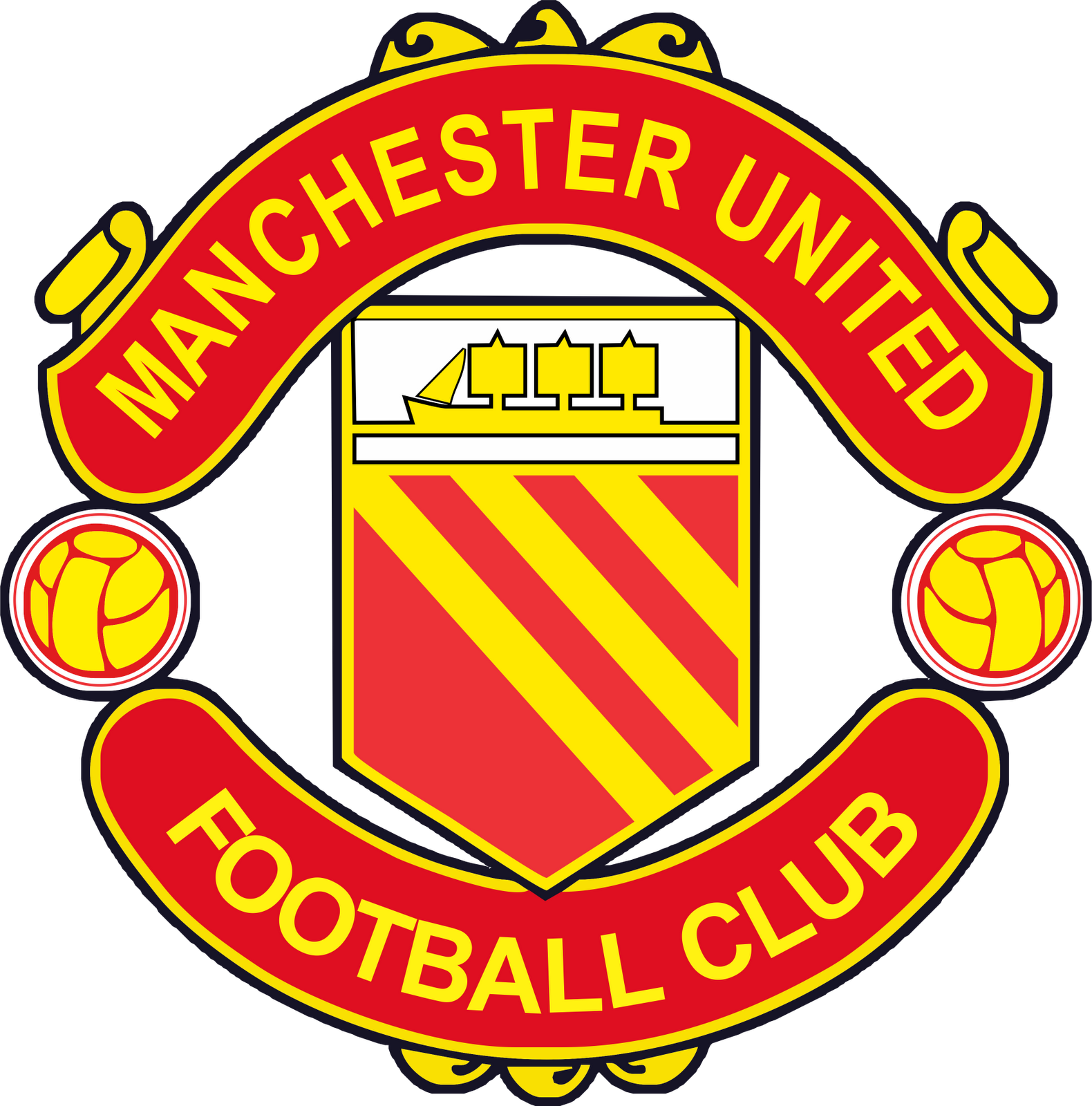 manchester united logo png transparent manchester united