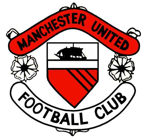 Dosya:Manchester United FC logo 1960-1973.png - Manchester United PNG
