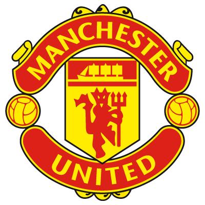 Manchester United Logo Black