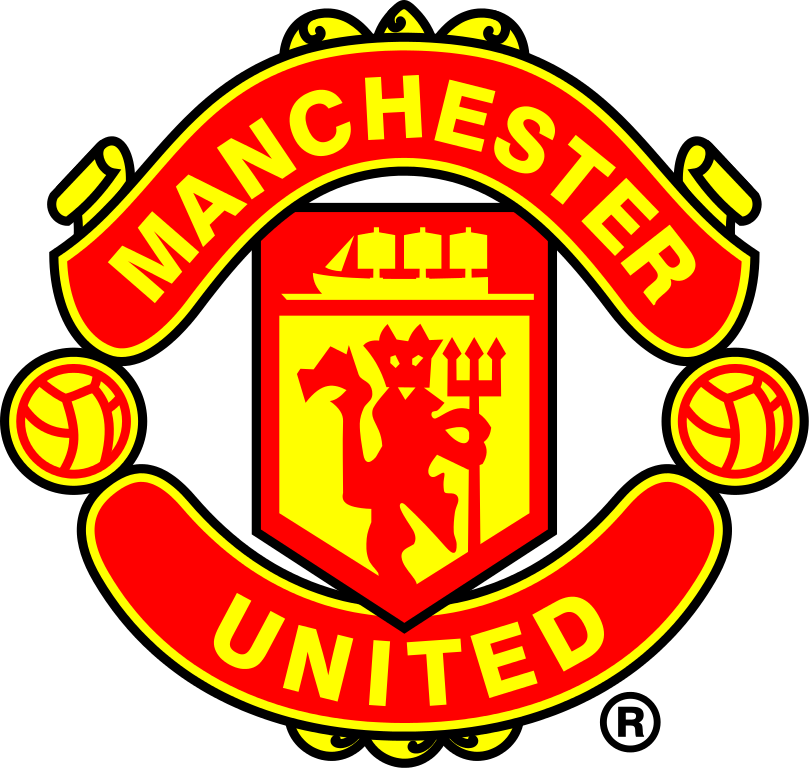 Manchester United logo black