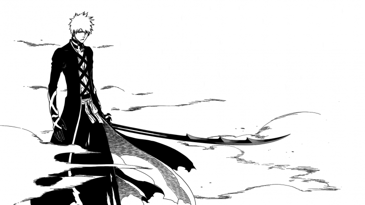 Bleach, Kurosaki Ichigo, Manga HD Wallpaper Desktop Background - Manga HD PNG