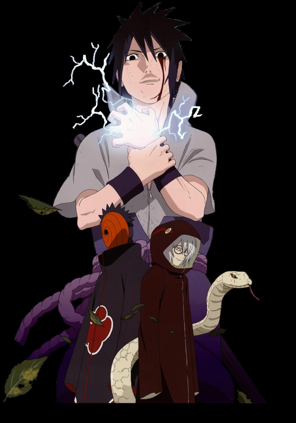 . PlusPng.com Render Sasuke [Naruto Shippuden] Full HD by WallPB by WallPB - Manga HD PNG