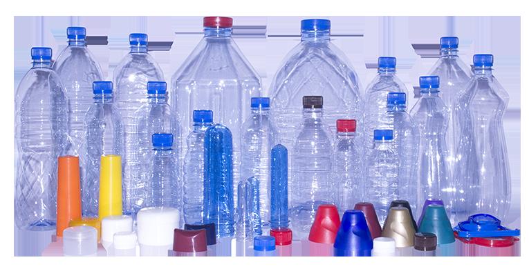 Manufacturing PET Bottles - Plastic Bottles PNG
