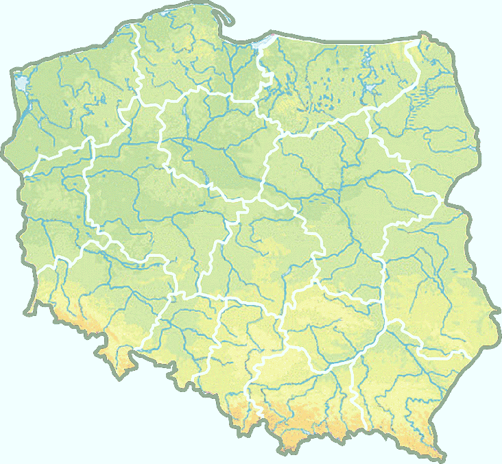 Map of Poland colorful.png - Poland PNG