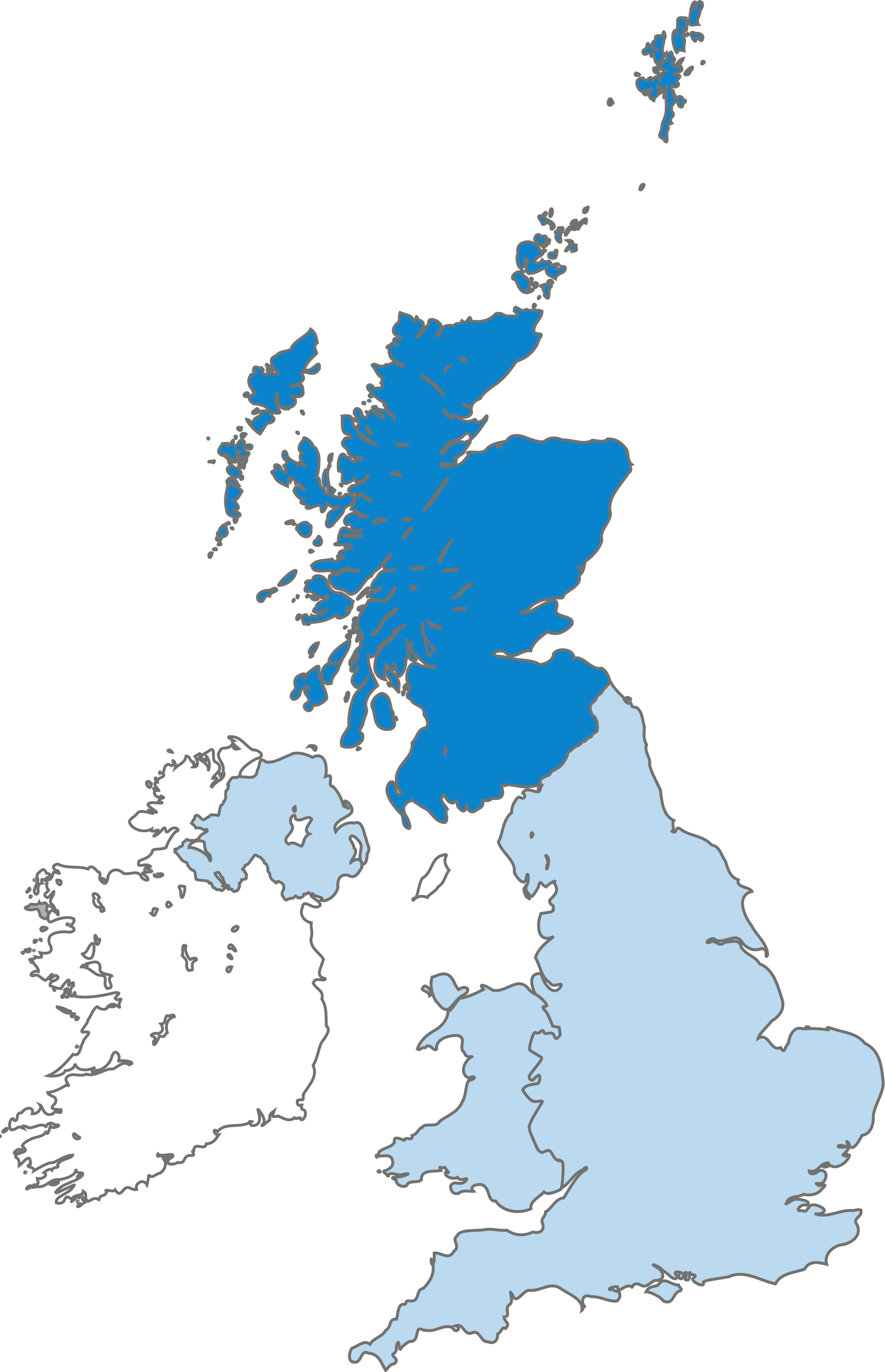 Map of Scotland within the United Kingdom.svg - United Kingdom PNG