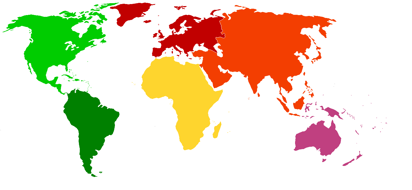 Map Of The World PNG HD - 123547