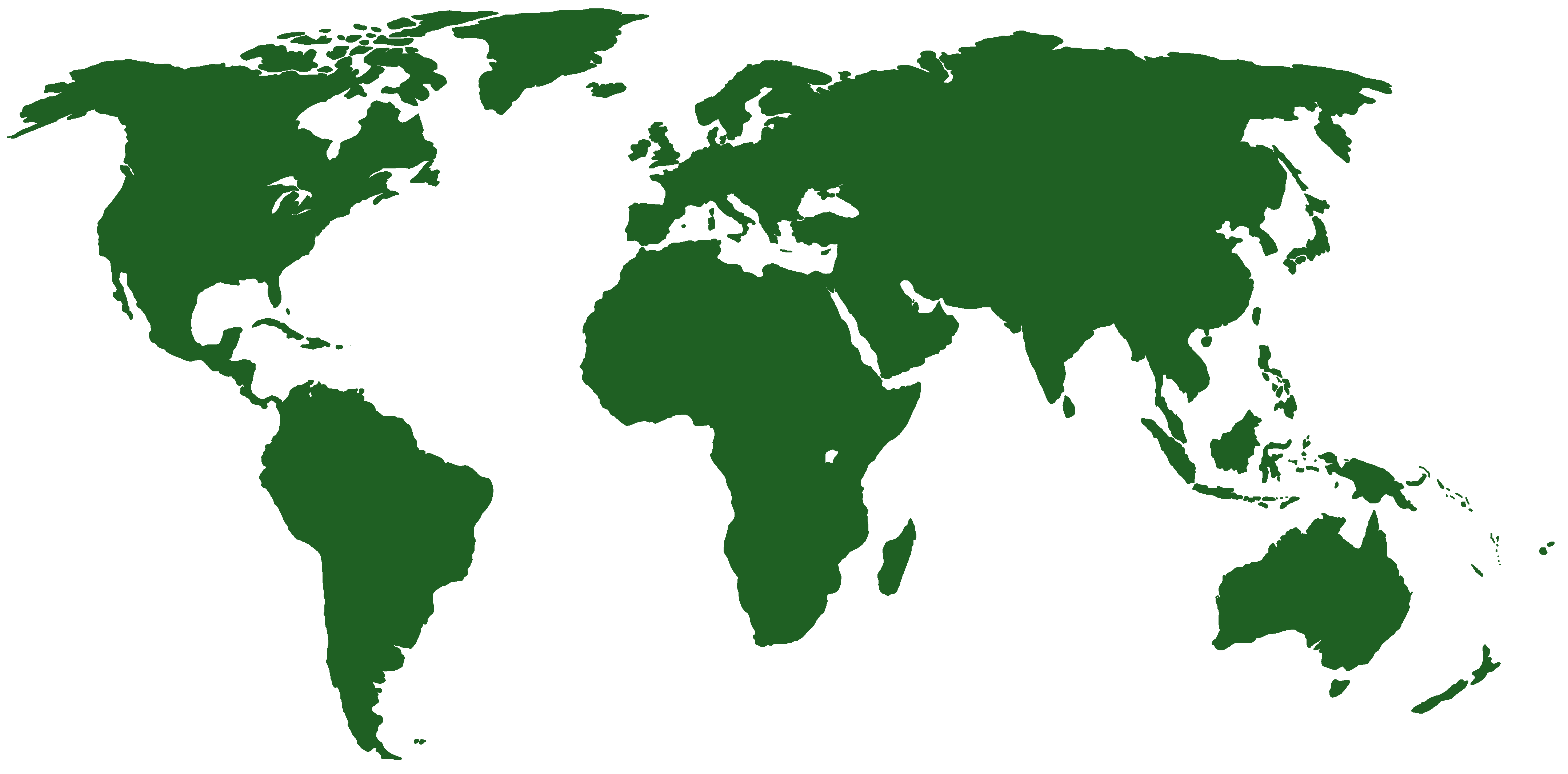 Map Of The World PNG HD