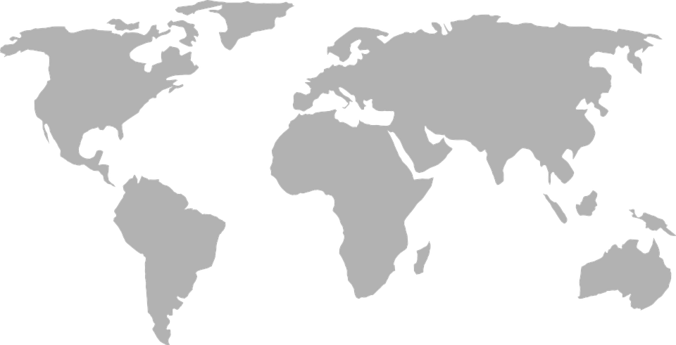 Map Of The World PNG HD - 123543