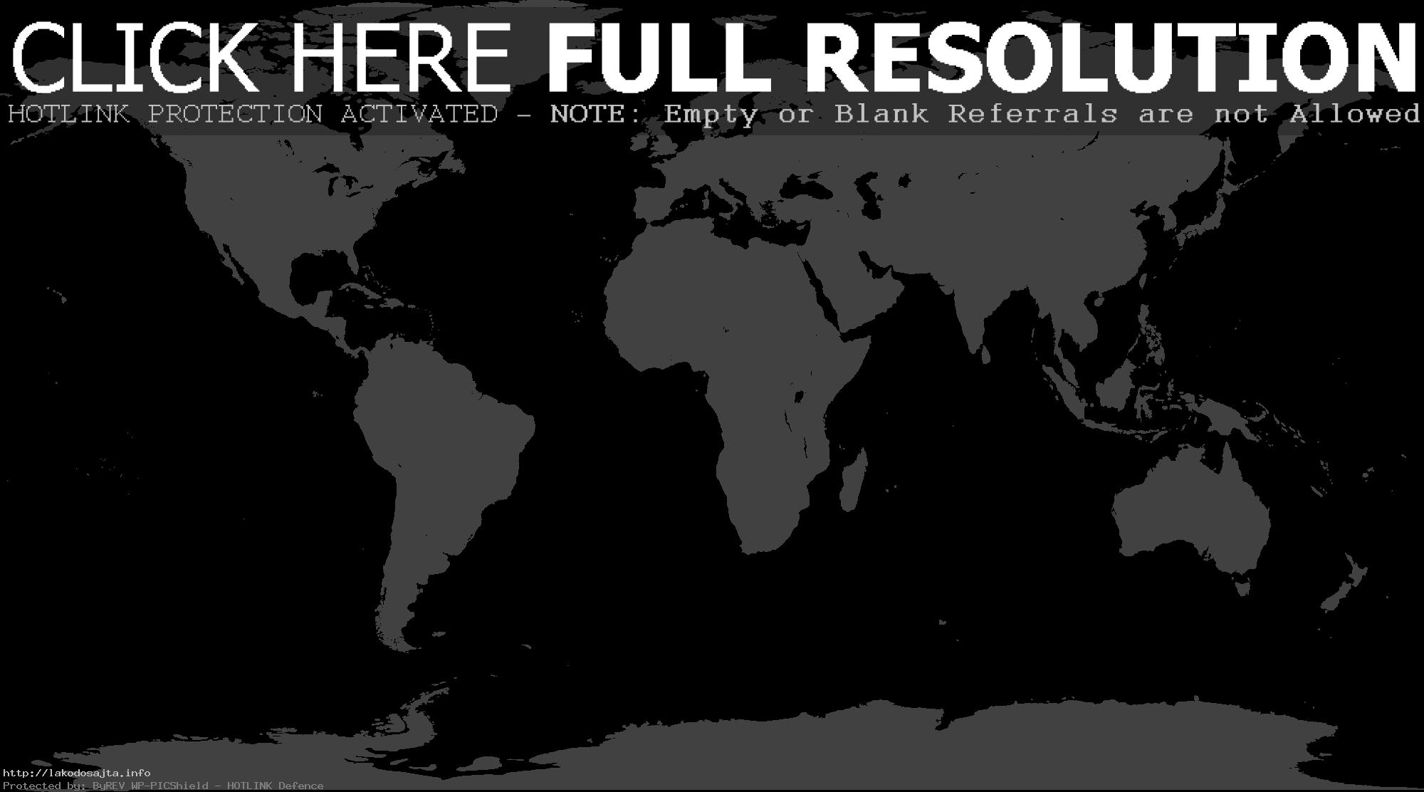 World Map Png - Map Of The World PNG HD