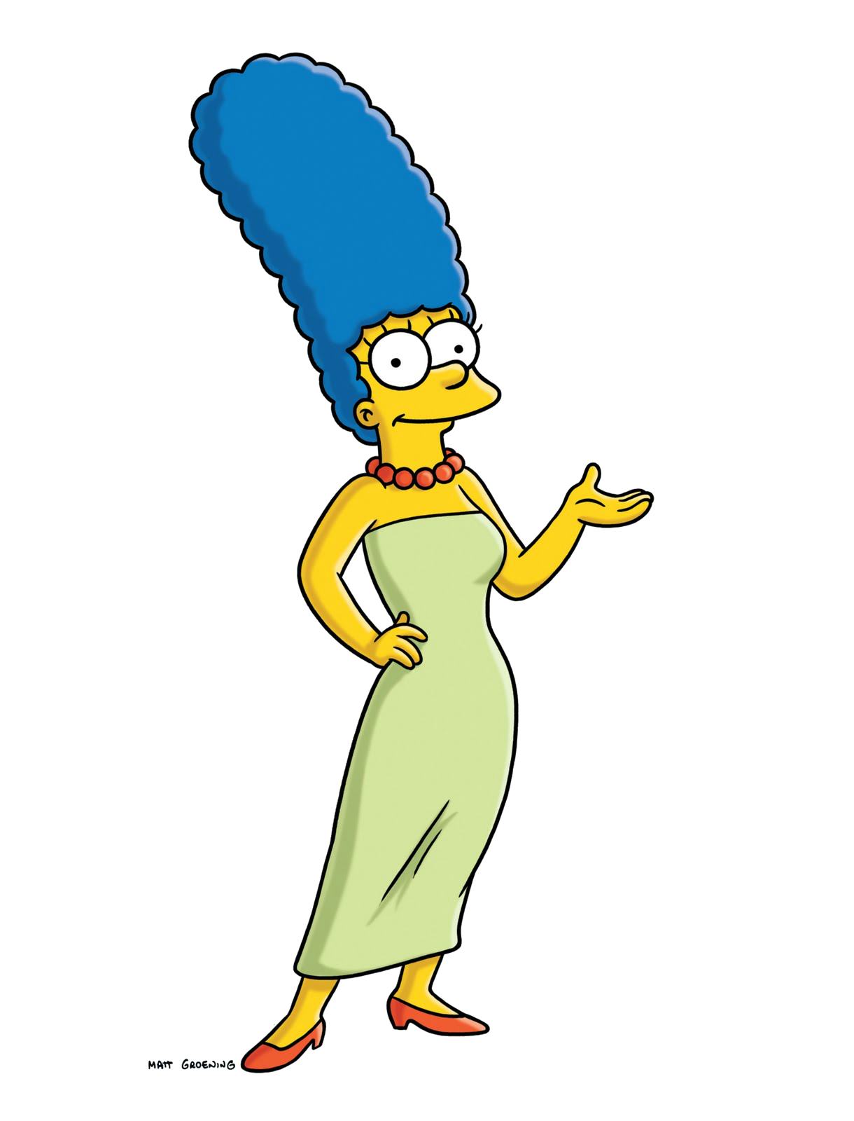 Marge Simpson HD PNG