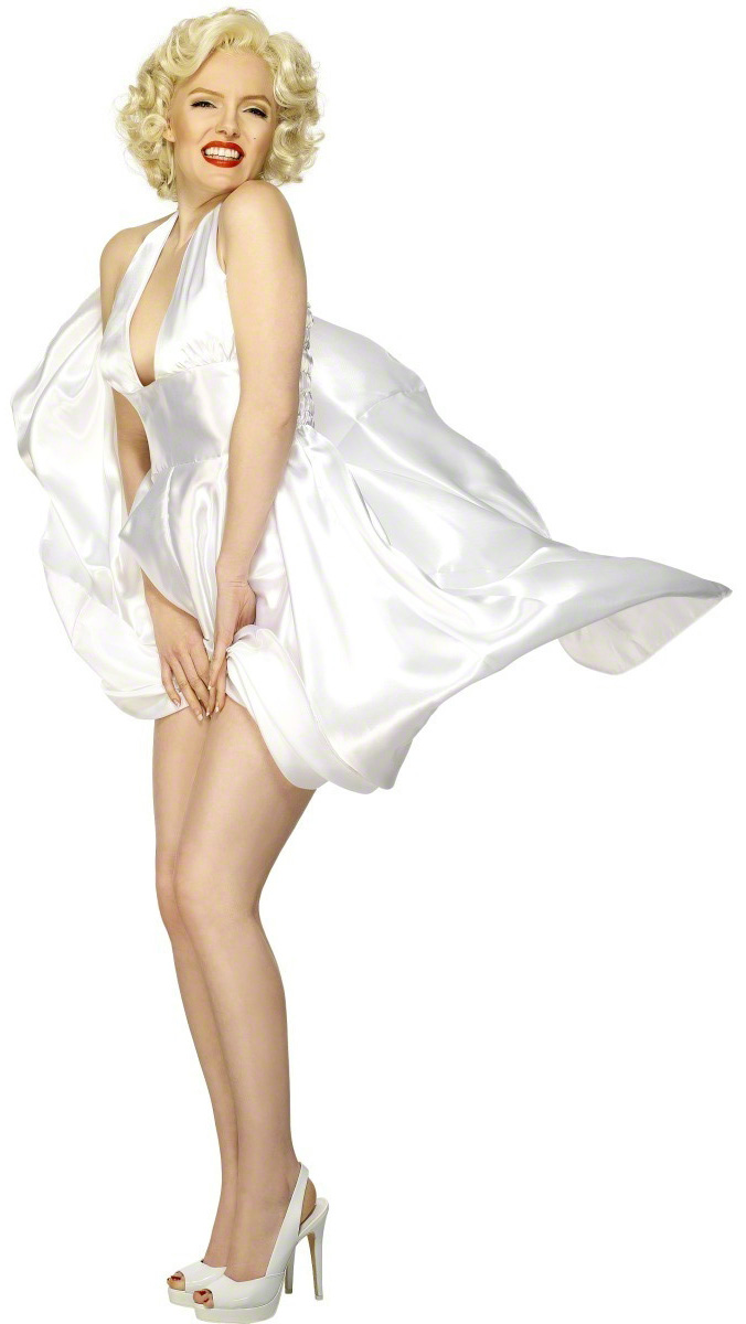 Marilyn Monroe™ costume for women - Marilyn Monroe PNG