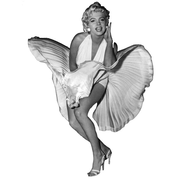 Marilyn Monroe Dress - Marilyn Monroe PNG