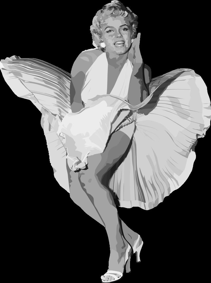 Marilyn Monroe PNG - 27852