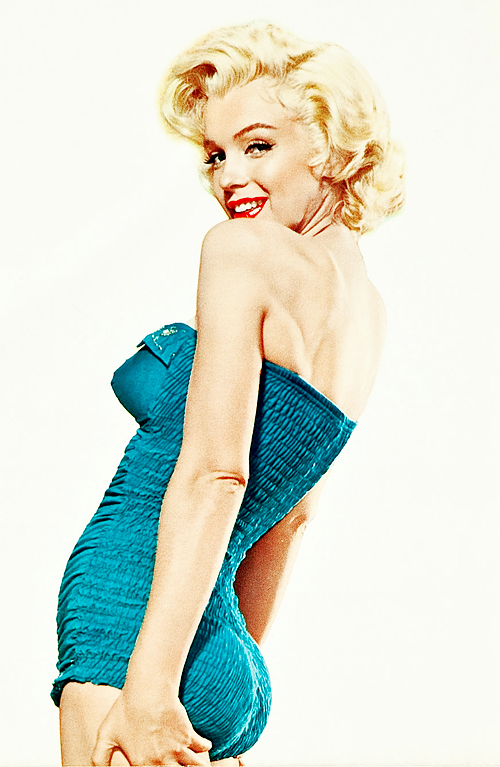 Marilyn Monroe, Promotional Poster for u0027How to Marry A Millionaireu0027 wearing  a vintage one-piece bathing suit. - Marilyn Monroe PNG