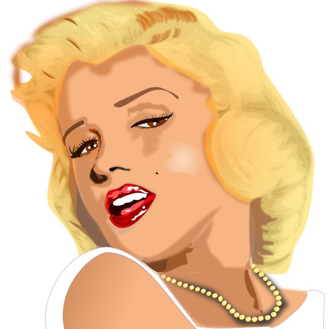Marilyn Monroe vector - /famous/Entertainers/actors/actress/Marilyn /Marilyn_Monroe_vector.png.html - Marilyn Monroe PNG