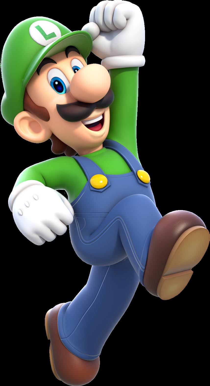 Luigi Artwork (alt) - Super Mario 3D World.png - Mario And Luigi PNG