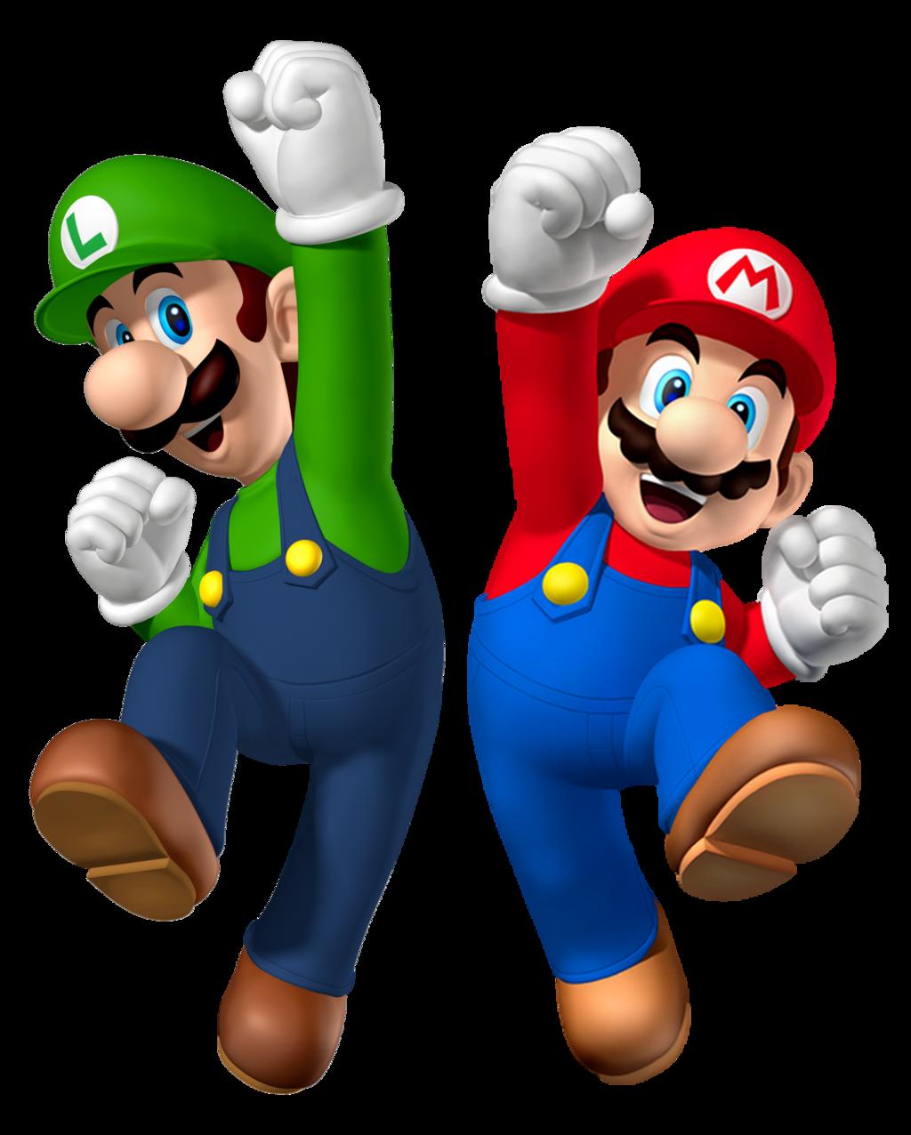 . PlusPng.com Mario and Luigi 2015 render 2 (older version) by Banjo2015 - Mario And Luigi PNG
