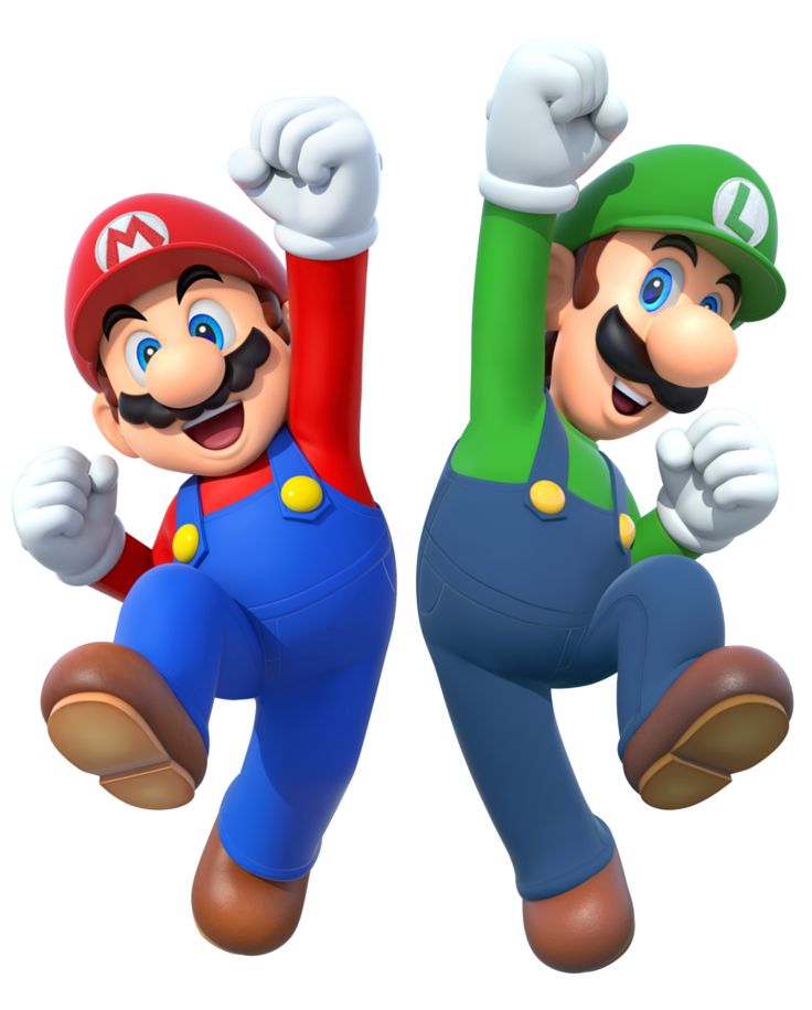 Mario and Luigi by Legend-ton