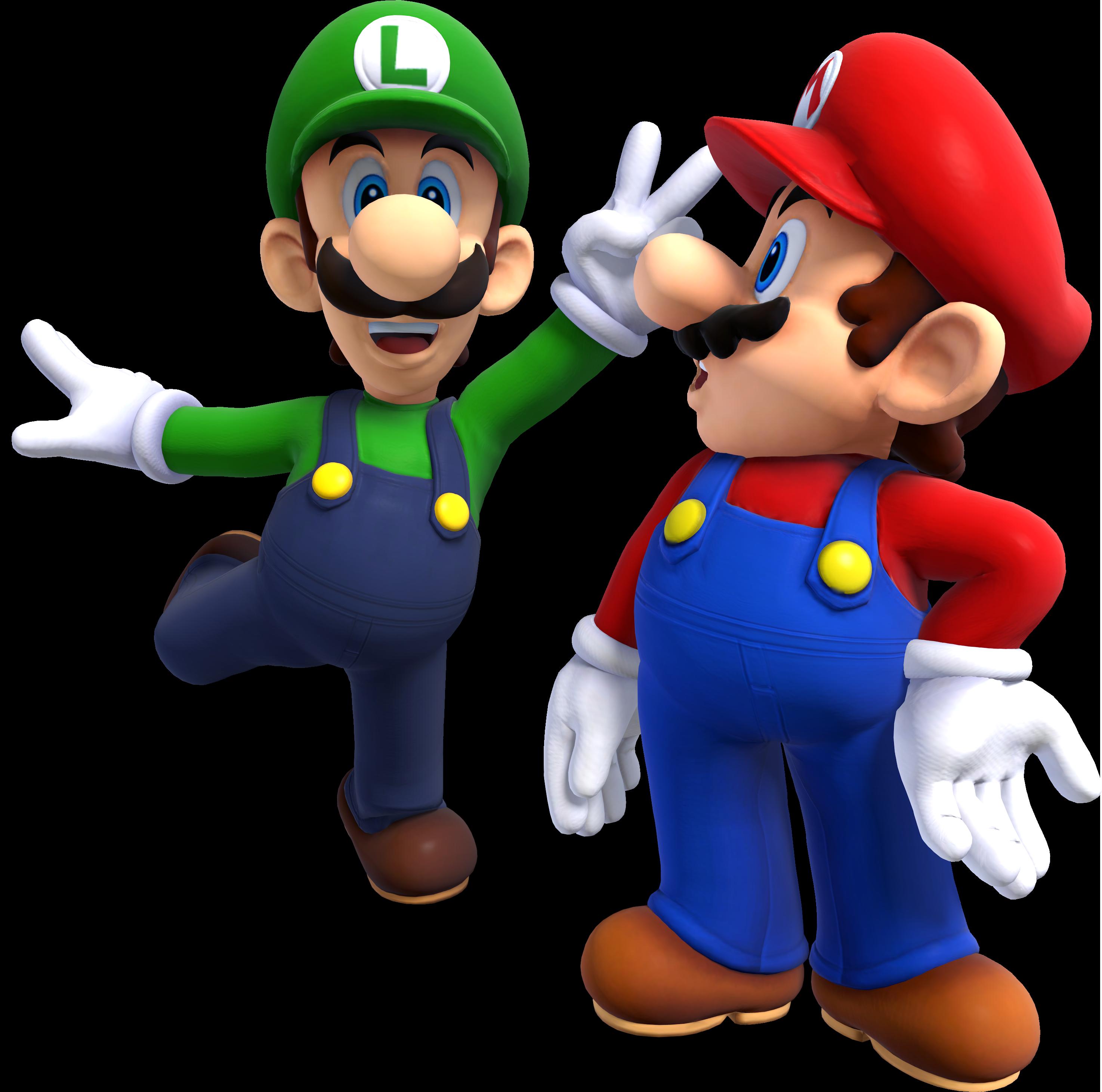Mario And Luigi PNG - 88719