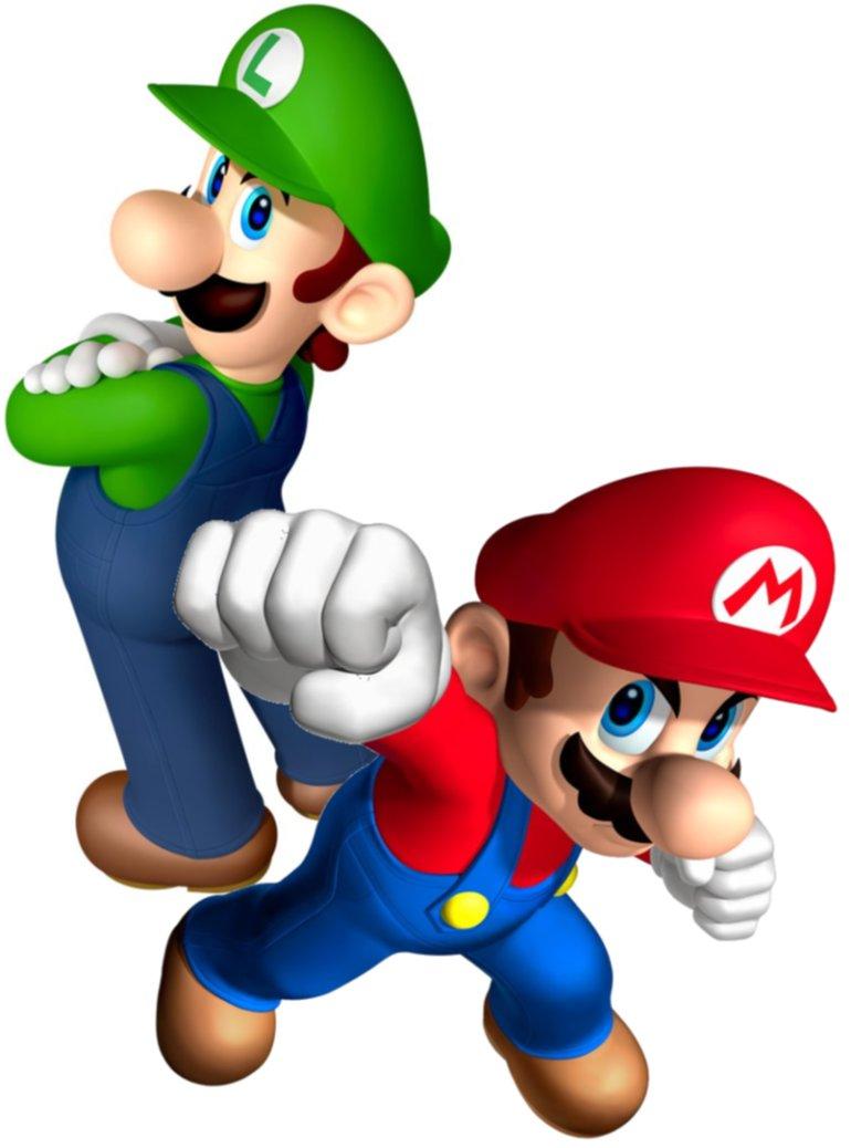 Mario And Luigi PNG - 88705